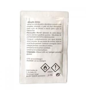 Saqueta Gel Desinfetante 3ml  Cx 500un