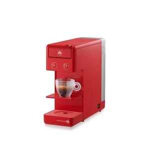 Máquina Café Cápsulas ILLY Y3.2 E&C Iperespresso Vermelho