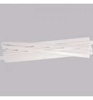 Baguete 15mm A4 Branco Cx 100un