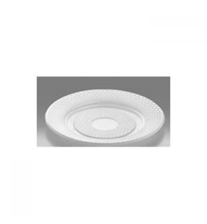 Pratos Plastico Branco Sobremesa 170ml (Pack100)