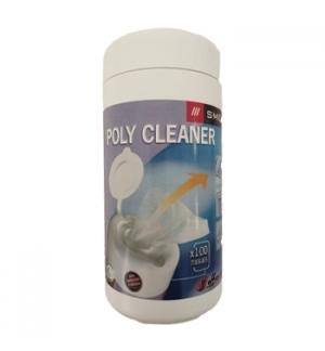 Toalhetes Humedecidos Limpeza Geral Ecrans/Teclad Tubo 100un