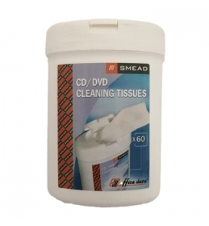 Limpeza CDs, Monitores (Smead Cleaning Tissues)-Pack 60un