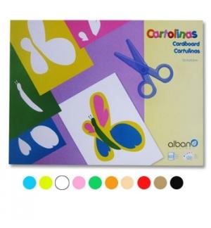 Bloco Cartolinas 32,5x24,5 180gr Cores Sortidas 30Fls