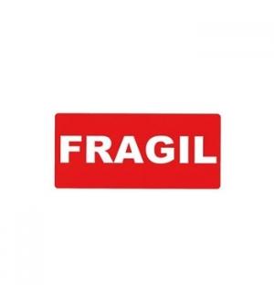 Etiquetas Apli FRAGIL100x50mm Rolo 200un