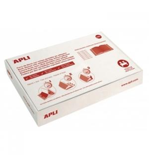 Forra Livros Ajustavel Apli 290x530mm Transp 130mic 100un
