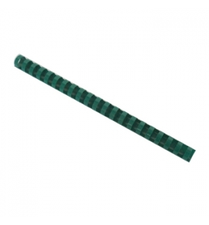 Argolas Pvc Encadernar 18mm p/ 140 Folhas Cx 100un Verde