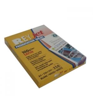 Papel InkJet Satin A4 100gr ReyJet - 250 Folhas