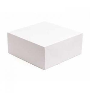 Caixa Cartolina Branca 13x12cm 200un