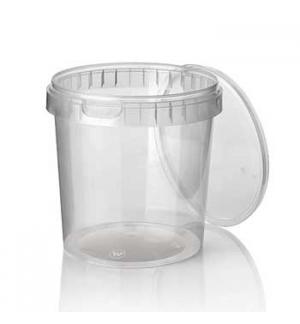 Caixa Alimentar PP Plástico Redonda 770ml 30un