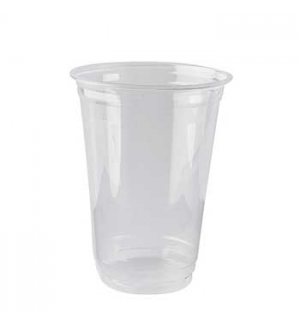 Copo PLA Bebidas Frias Transparente 400ml 12,7cm 65un
