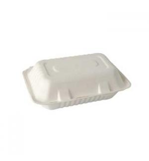 Embalagem C/Tampa Alimentar Cana Acucar 7,9x15,5x23cm 25un