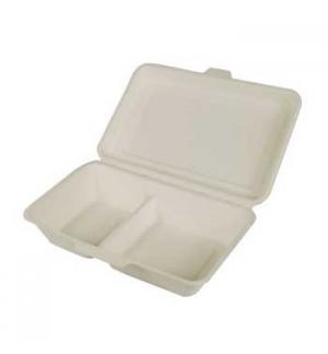 Embalagem C/Tampa Alimentar Cana Acucar 6,7x16,7x23,5cm 25un