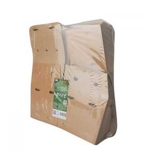 Caixa Cartão Batatas Fritas 14x14,5x14,5cm Kraft 1un