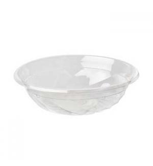 Saladeira 700ml PLA Redondo Transparente  50un