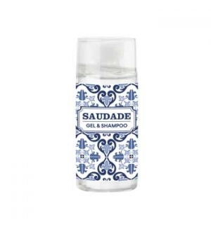 Gel Duche Frasco Amenities Tema Saudade 30ml 230un