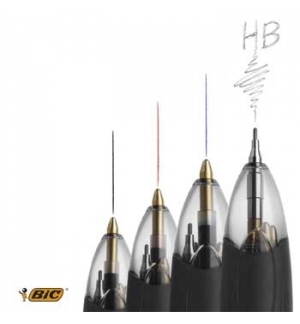 Esferografica Ball Point 1,0 BIC (Retractil) 4 cores 3+1HB