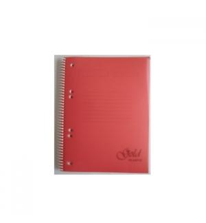 Caderno Espiral Platanus A5 Pautado 100Fls 70gr