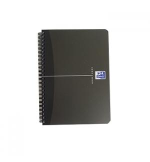 Caderno Espiral Oxford Office Book Capa PP A5 Quadri. 90 fls