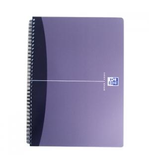 Caderno Espiral Oxford Office Book Capa PP A4 Pautado 90 fls