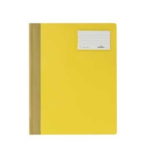 Classificador Plastico Capa Opaca Durable 2500 Amarelo 1un