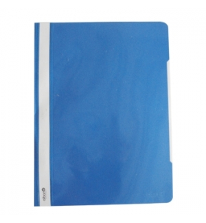 Classificador Plastico PP Capa Transparente azul 1uni