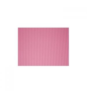Folha Cartao Canelado Colorido 50x70cm Rosa