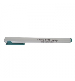Marcador Ponta Fina Edding 2100 0.3mm Verde 1 unid