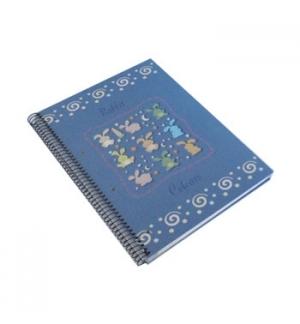 Caderno Espiral Rabbit A4 Pautado 120 Folhas
