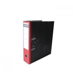 Pasta Arquivo L80 320x280 Marmoreada Lombada Vermelha