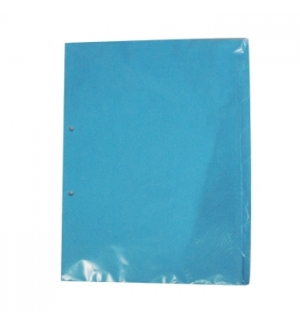 Separadores A4 Cartolina 08un Azul