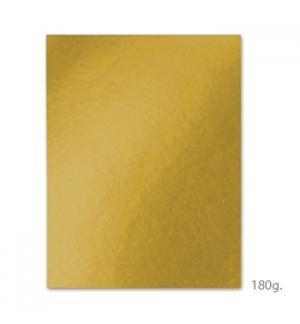 Cartolina A4 180gr 100 Folhas Amarelo Ouro (4E)