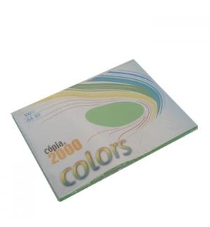 Papel Fotocopia A4 80gr Verde Forte 100Fls