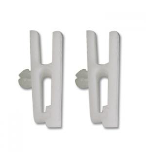 Mola Plastico p/Porta Nomes Cor Branco Pack 100un
