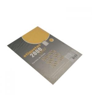 Cartoes Visita InkJet/Laser/Copy 210gr 10Fls 86x54mm (100un)