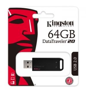 Pen Drive 64GB DataTraveler 20 USB 2.0 Preto