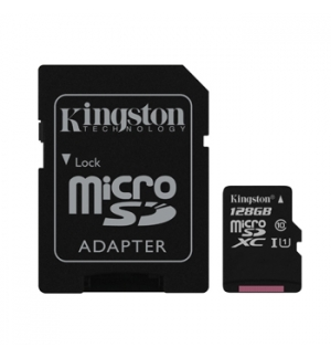 Cartao Memoria KINGSTON128GB Canvas Select Micro SDHC