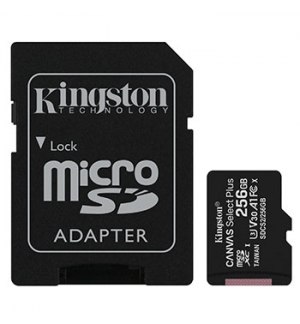 Cartao Memoria KINGSTON 256GB micSDXC Canvas Select Plus