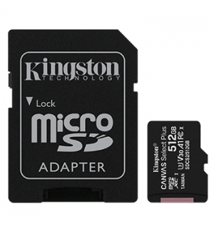 Cartao Memoria KINGSTON 512GB micSDXC Canvas Select Plus
