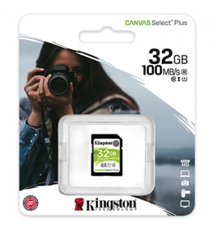 Cartao Memoria KINGSTON 32GB SDHC Canvas Select Plus