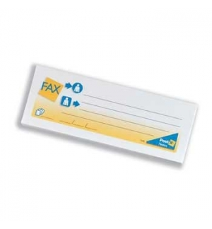 Post-it Mensagem Fax Pequeno 102x37 Pack2