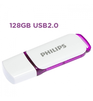 Pen Drive 128GB Philips Snow Edition Purple USB 2.0