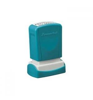 Carimbo 11x25mm Xstamper Quix Neutro 1un., personalizado