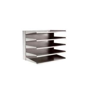 Conjunto 5 Tabuleiros Metalicos Cinza