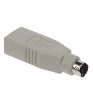 Adaptador USB - PS2 macho para USB A femea