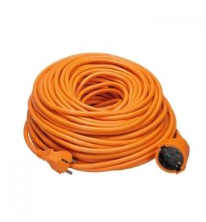 Extensao electrica 40mts cabo borracha de 3x1,5mm laranja