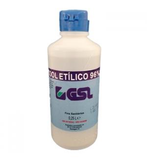 Álcool Etílico 96% 250ml