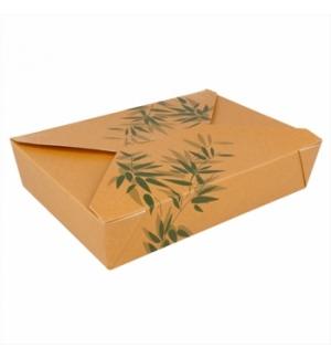 Caixa Cartolina Kraft Feel Green19,8x14x4,8cm 1470ml 50un