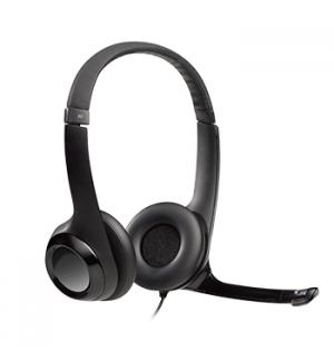 Headset com microfone H390 USB