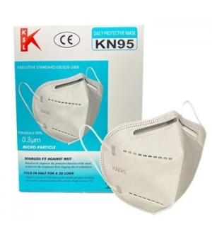 Mascara c/Filtracao Particulas FFP2 /KN95 - 1un