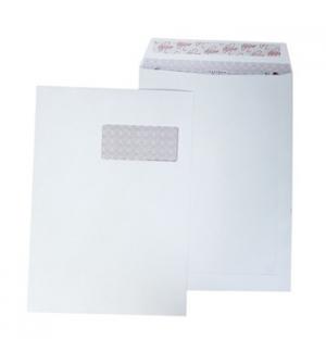 Envelopes Saco 229x324mm c/Janela Branco 90gr Autodex Cx250